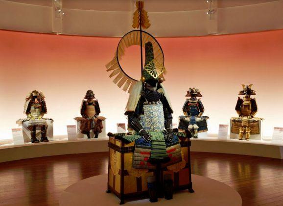 11 armures de daimyos au musée Guimet